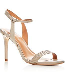 Women's Whitney Leather High Heel Sandals
