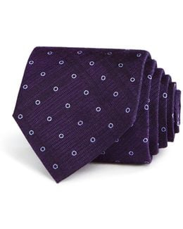 Outline Dot Classic Tie