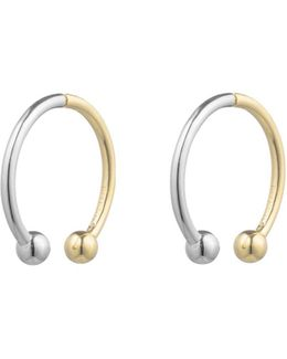 Curved Barbell Earrings