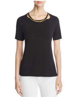 Susie Chain Neck Tee