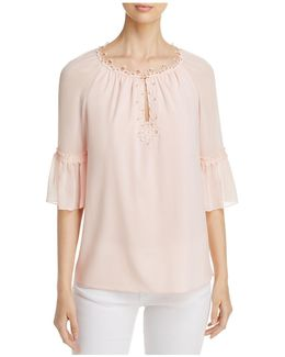 Pria Bell Sleeve Blouse