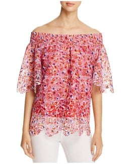 Cecilia Off-the-shoulder Blouse