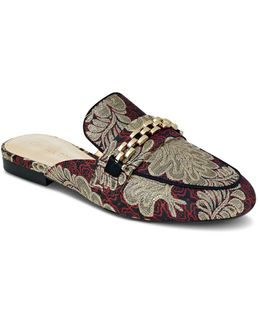 Warda Brocade Mules
