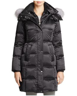 Leven Fur Trim Down Coat