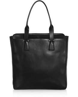 Lawford North South Leather Tote