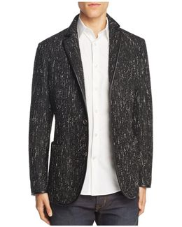 Textured Slim Fit Sport Coat