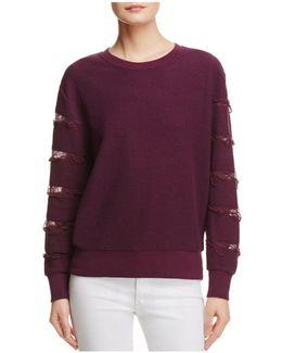 Daymon Distressed Sweatshirt