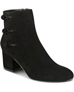 Parin Buttoned Block Heel Booties