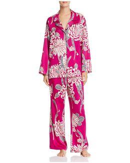 Aizome Pajama Set