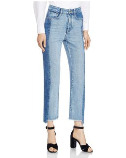 Packy Two-tone Faded Jeans