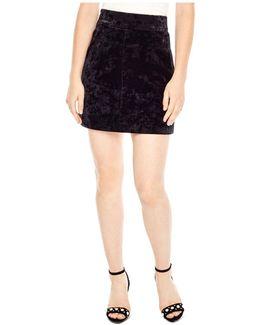 Marylou Velvet Skirt