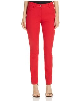Julienne Skinny Jeans In Red