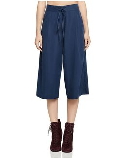 Laced Drawstring Culottes
