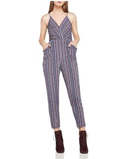 Draped Pocket Jumpsuit