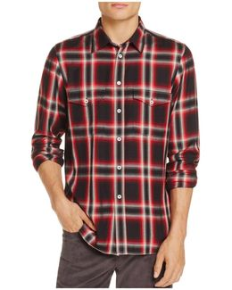 Plaid Slim Fit Button-down Shirt