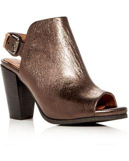 Serella High Heel Slide Sandals