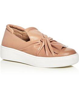 Celeste Slip-on Platform Sneakers