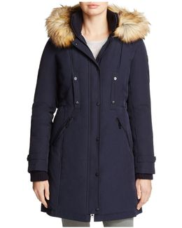 Active Long Puffer Coat