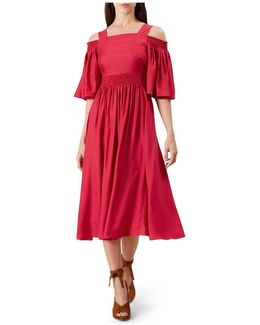 Sienna Cold-shoulder Dress