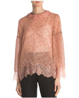 Candy Flowers Pes Lace Top