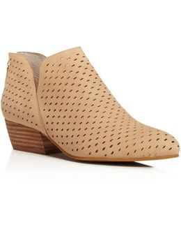 Cooper Perforated Booties