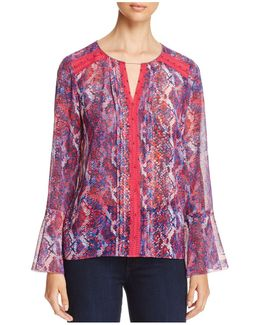 Norma Bell-sleeve Blouse