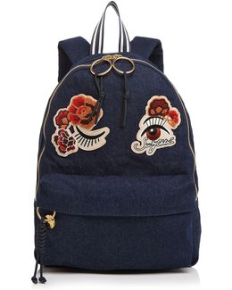 Andy Denim Backpack