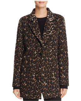 Kendall Leopard Print Coat