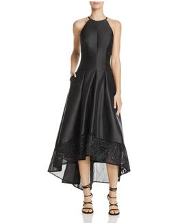 Infusion Embroidered High/low Dress