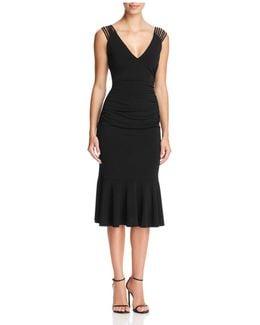 Strappy Matte Jersey Dress