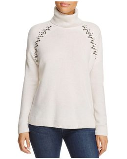 Studded Cashmere Sweater