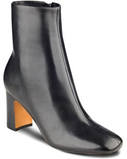 Grazi Leather Booties