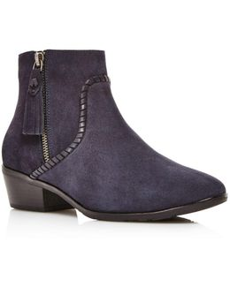 Dylan Waterproof Suede Booties