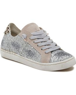Z-glitter Lace Up Sneakers