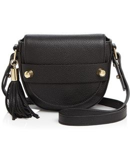 Astor Small Saddle Crossbody