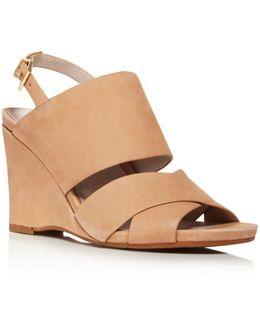Irene Wedge Sandals