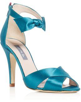 Buckingham Bow Sandals