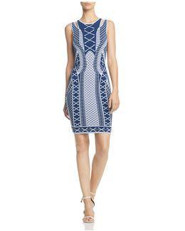 Clara Jacquard Dress