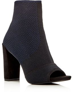 Dahvi Peptone High Heel Booties