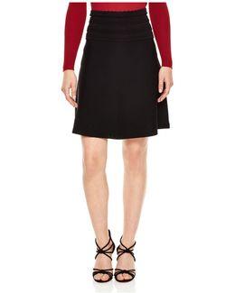 Valentine Scalloped Waist Skirt