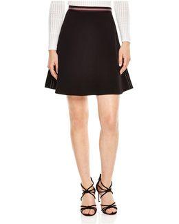 Lysbeth Contrast Stitch Skirt