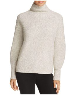 Urban Flossy Ribbed Knit Sweater