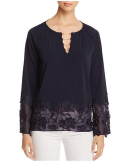 Laurie Embroidered Lace Top