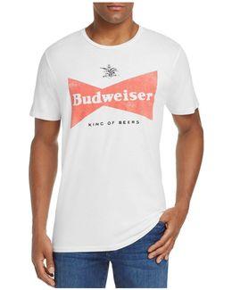 Budweiser King Of Beers Logo Tee