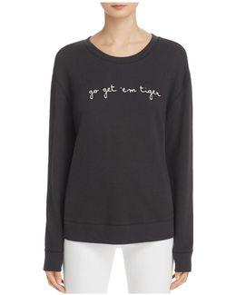 Rikke B Embroidered Sweatshirt