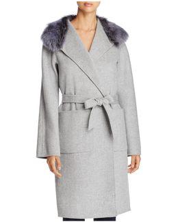 Rhoda Wrap Coat