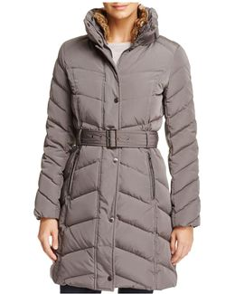 Stand Collar Puffer Coat