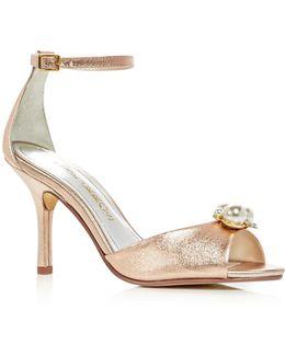 Women's Joy Embellished High Heel Sandals