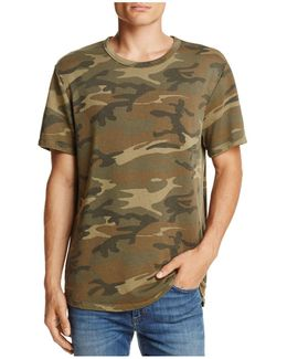 Concrete Jungle Camouflage Short Sleeve Knit Tee