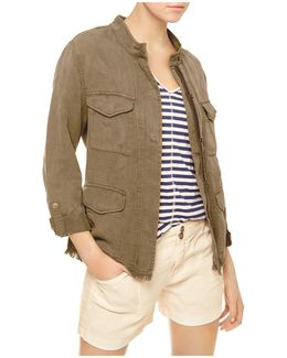 Roy Frayed Surplus Jacket